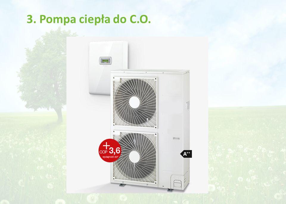 3. Pompa ciepła do C.O.
