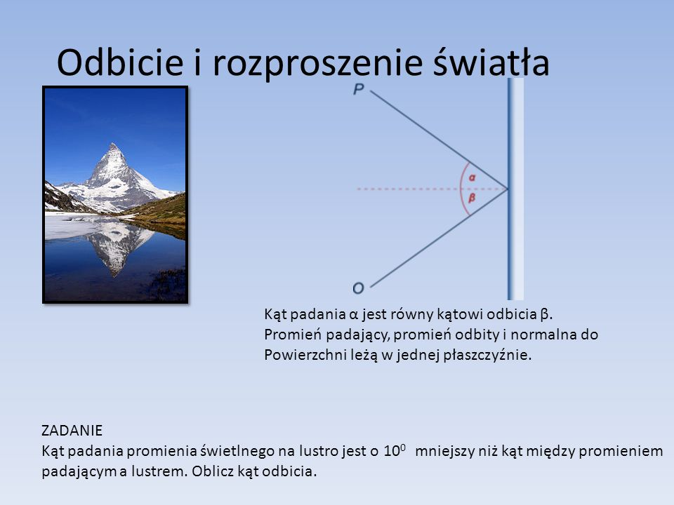 Względny współczynnik załamania ośrodka 2 (do którego światło weszło) względem ośrodka 1 (z którego światło wyszło) jest równy stosunkowi prędkości światła w ośrodku 1 do prędkości światła w ośrodku 2.