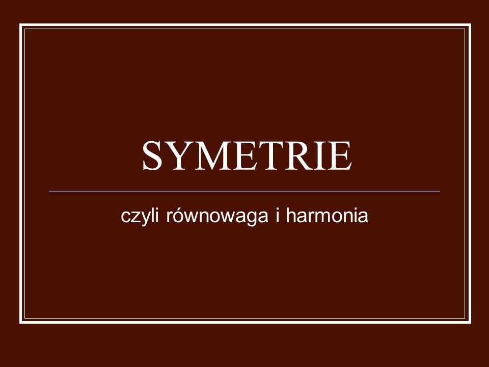 Symetria osiowa, czyli symetria względem prostej często zwana jest lustrzanym odbiciem.
