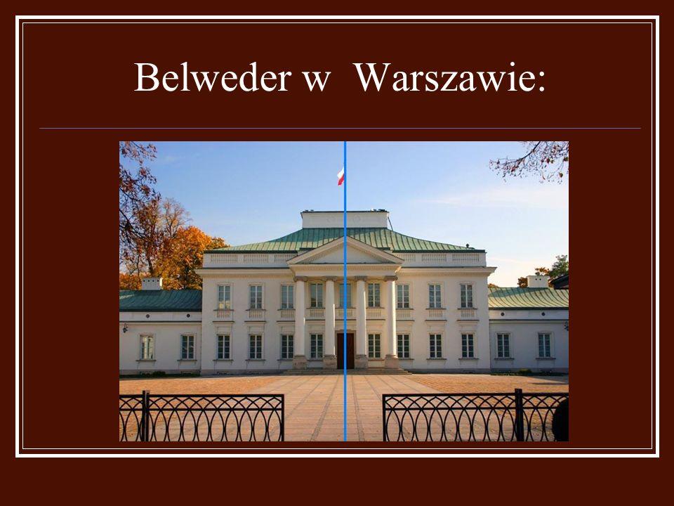 Belweder w Warszawie: