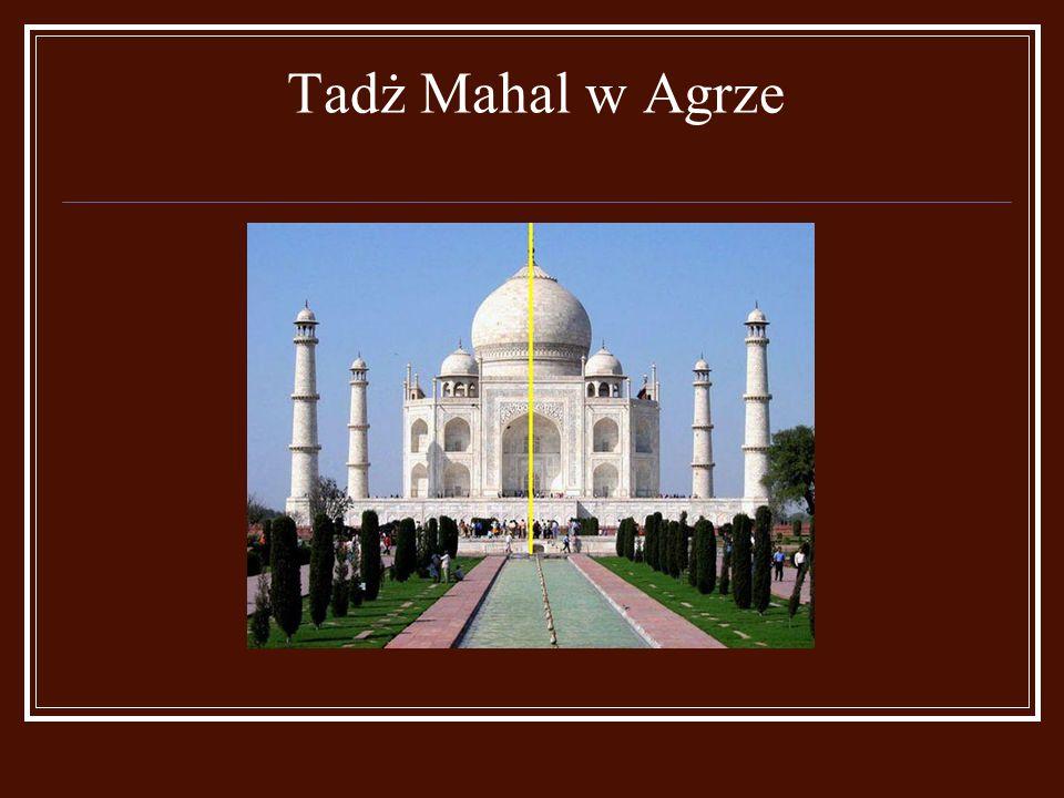 Tadż Mahal w Agrze
