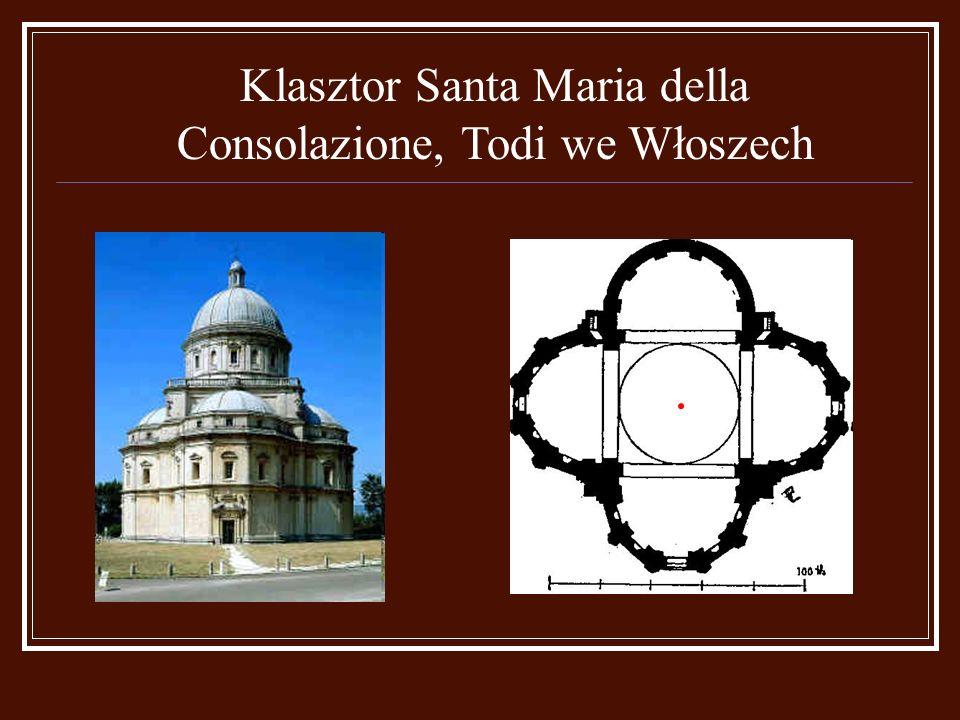 Klasztor Santa Maria della Consolazione, Todi we Włoszech