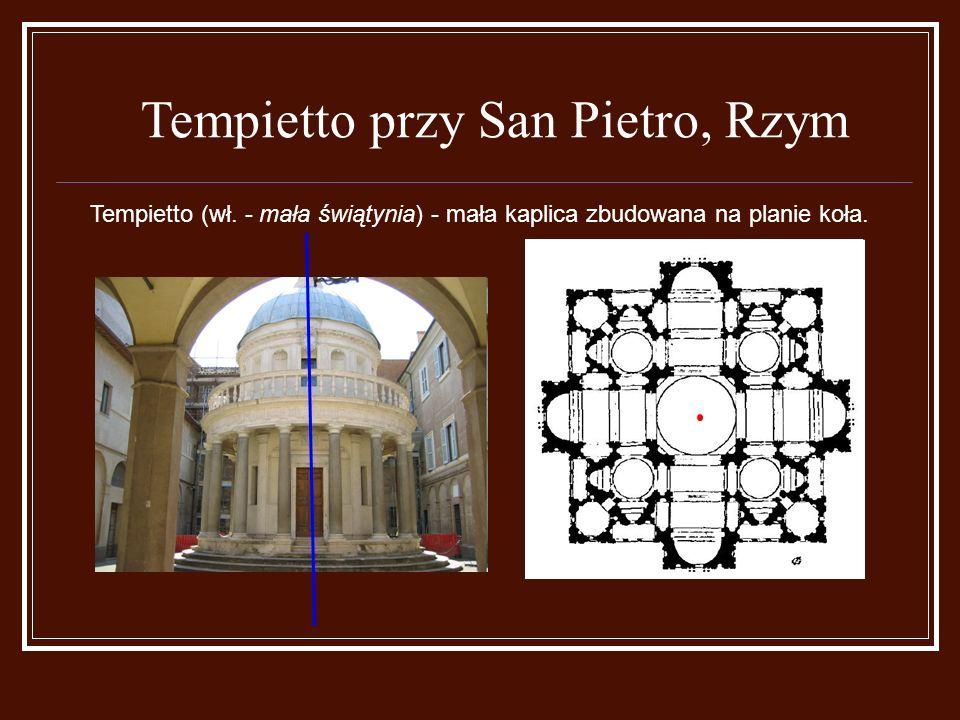 Tempietto przy San Pietro, Rzym Tempietto (wł.