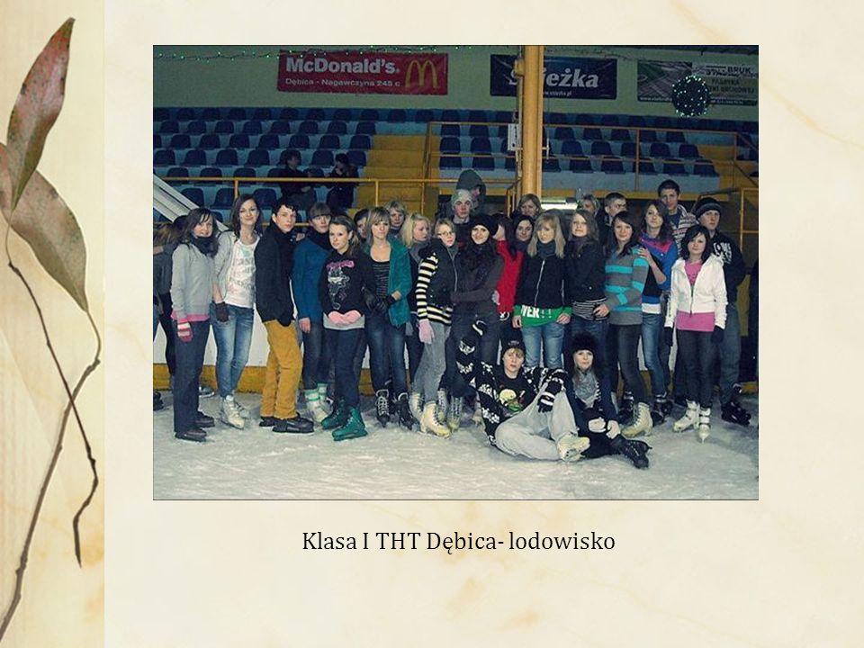 Klasa I THT Dębica- lodowisko