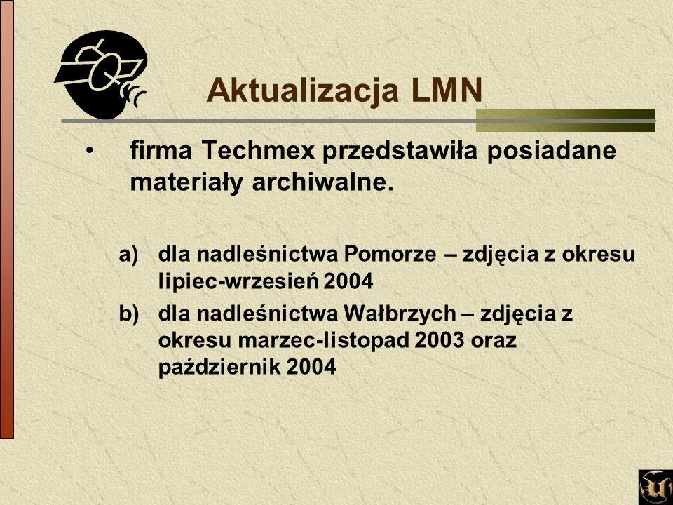 Aktualizacja LMN firma Techmex przedstawiła posiadane materiały archiwalne.