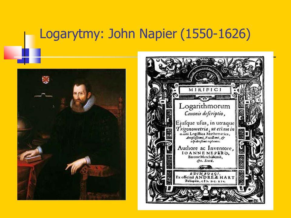 Logarytmy: John Napier (1550-1626)