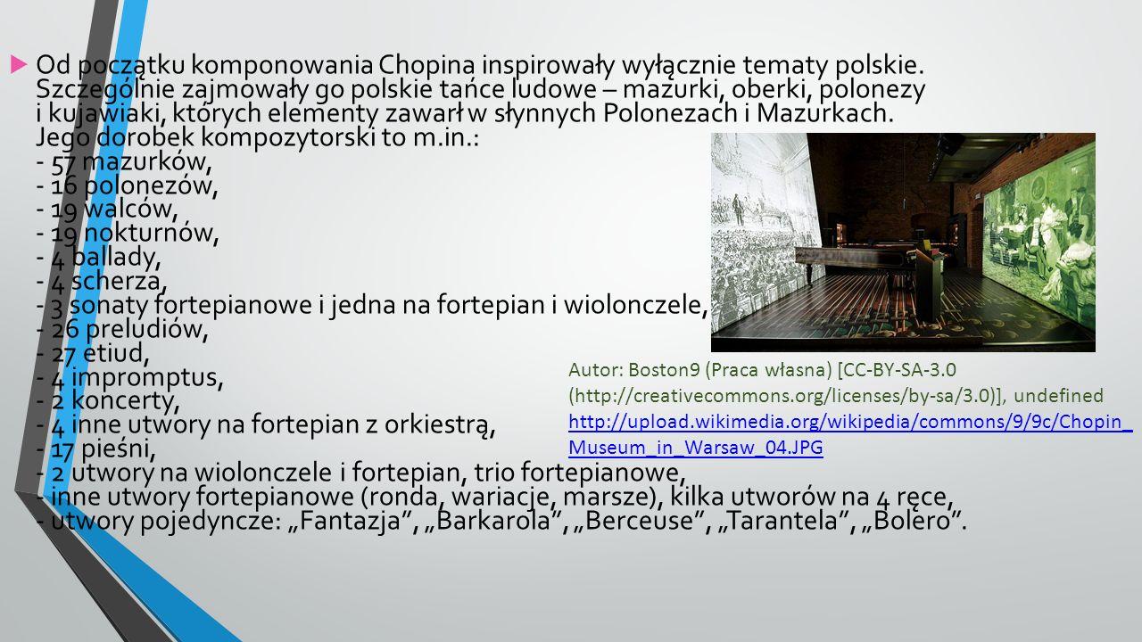 DOM FRYDERYKA CHOPINA Autor: Wojsyl (Praca własna) [GFDL (http://www.gnu.org/copyleft/fdl.html), CC-BY-SA-3.0 (http://creativecommons.org/licenses/by-sa/3.0/) lub CC-BY-SA-2.5 (http://creativecommons.org/licenses/by-sa/2.5)], undefined http://upload.wikimedia.org/wikipedia/commons/4/46/Poland_Zelazowa_Wola.jpg