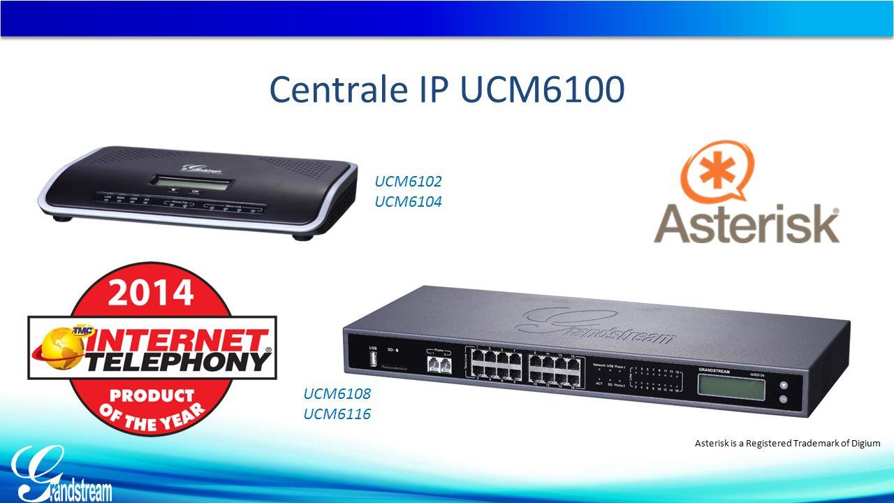  Nagrania na karcie SD lub dysku USB  Dostęp i odtwarzanie z poziomu Web UI UCM6100 - Głos Stabilna i bezpieczna komunikacja głosowa Nagrywanie rozmów