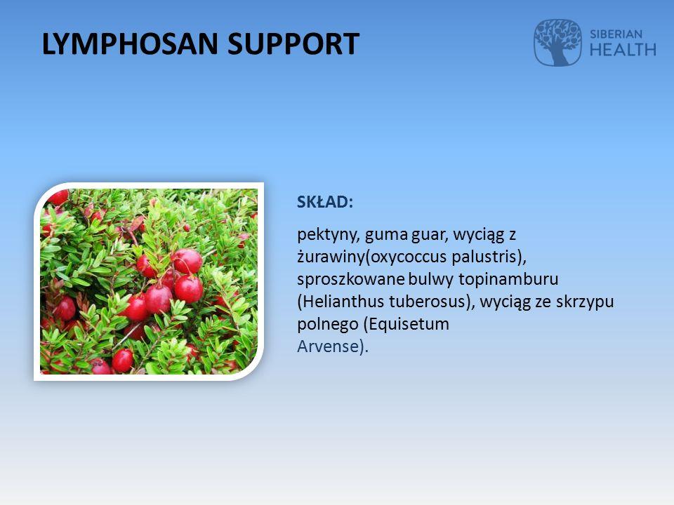 SKŁAD: pektyny, guma guar, wyciąg z żurawiny(oxycoccus palustris), sproszkowane bulwy topinamburu (Helianthus tuberosus), wyciąg ze skrzypu polnego (Equisetum Arvense).