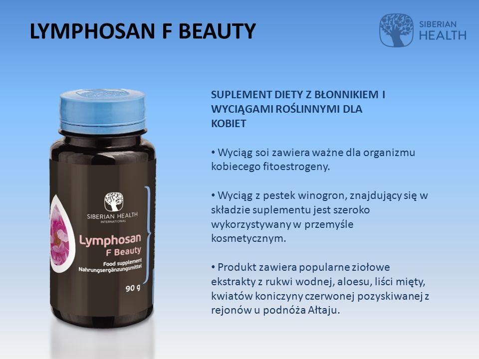SUPLEMENT DIETY Z BŁONNIKIEM I WYCIĄGAMI ROŚLINNYMI DLA KOBIET Wyciąg soi zawiera ważne dla organizmu kobiecego fitoestrogeny.
