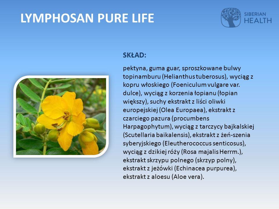 SKŁAD: pektyna, guma guar, sproszkowane bulwy topinamburu (Helianthus tuberosus), wyciąg z kopru włoskiego (Foeniculum vulgare var.