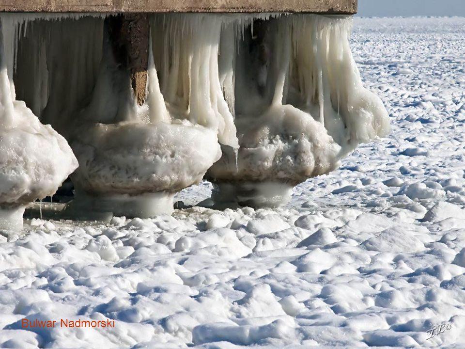 Basen Prezydenta skuty lodem
