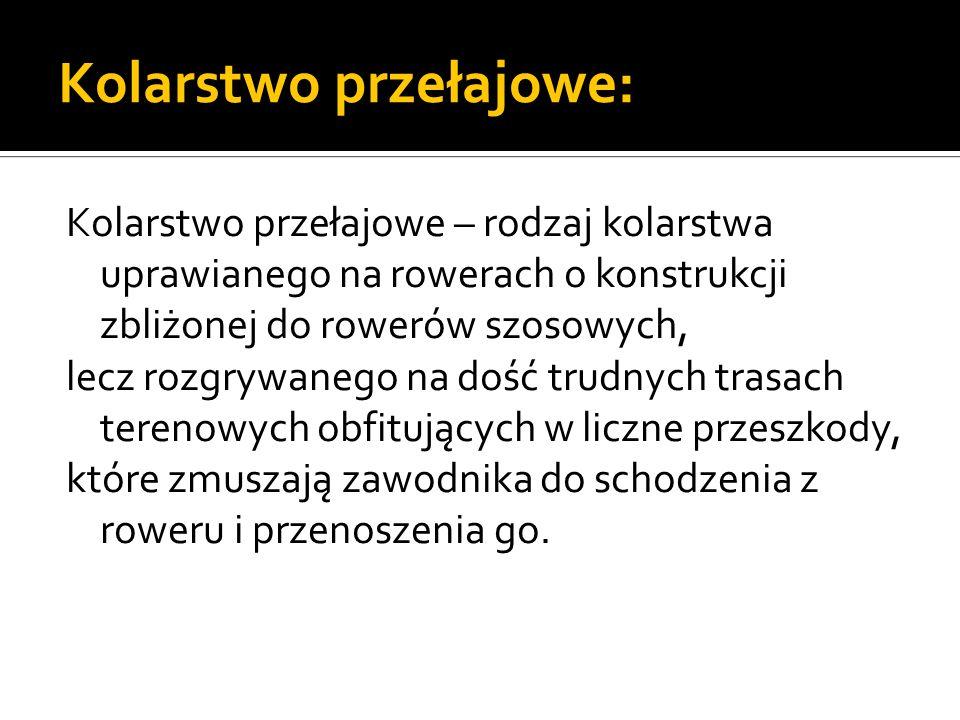 Dyscypliny MTB:  Zjazd (ang.