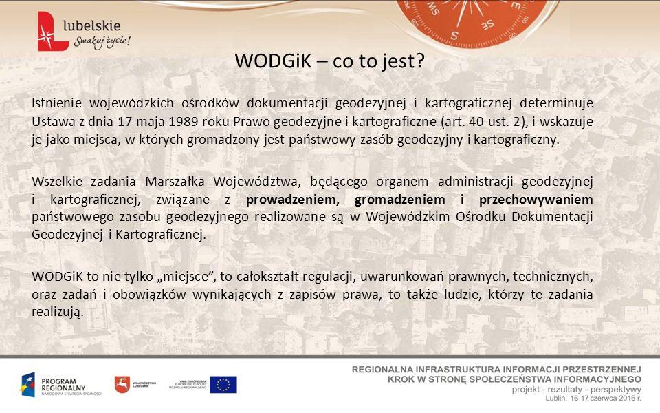 Wnioski, które otrzymujemy drogą tradycyjną również są procedowane w Module Zarządzania WODGiK.