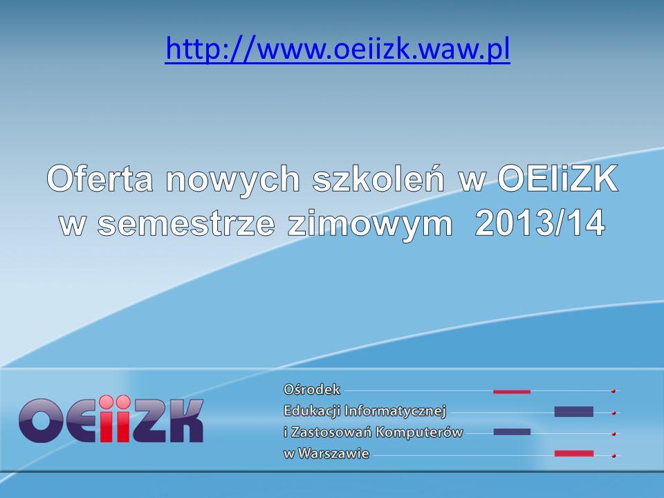 Serwisy Web 2.0 do tworzenia i udostępniania materiałów edukacyjnych (5 godz.