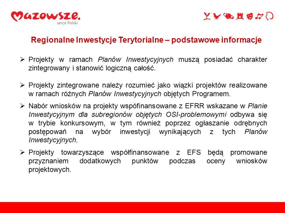 Podstawą realizacji RIT jest współpraca oparta na porozumieniu pomiędzy liderem subregionu – Miastem Siedlce – a innymi jednostkami samorządu terytorialnego układu przestrzenno-funkcjonalnego, charakteryzującego się wspólnymi uwarunkowaniami, potrzebami i kierunkami rozwoju (Powiaty: Siedlecki, Sokołowski, Węgrowski, Łosicki).