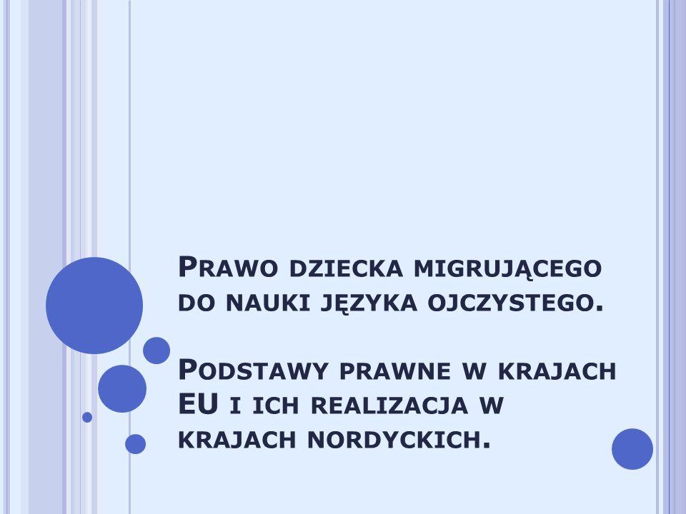"""""""Przyjmując proces integracji jako podejmowanie przez kraje osiedlenia działań respektujących zróżnicowanie kulturowe społeczeństw, wspieramy inicjowanie i organizowanie przez nauczycieli polskich za granicą takich działań, dzięki którym młode polskie generacje będą w stanie stworzyć w nieodległej przyszłości liczącą się w ich nowych krajach społeczność, biorącą aktywny udział zarówno w życiu swej grupy etnicznej, jak i w życiu społeczeństwa kraju przyjmującego ."""