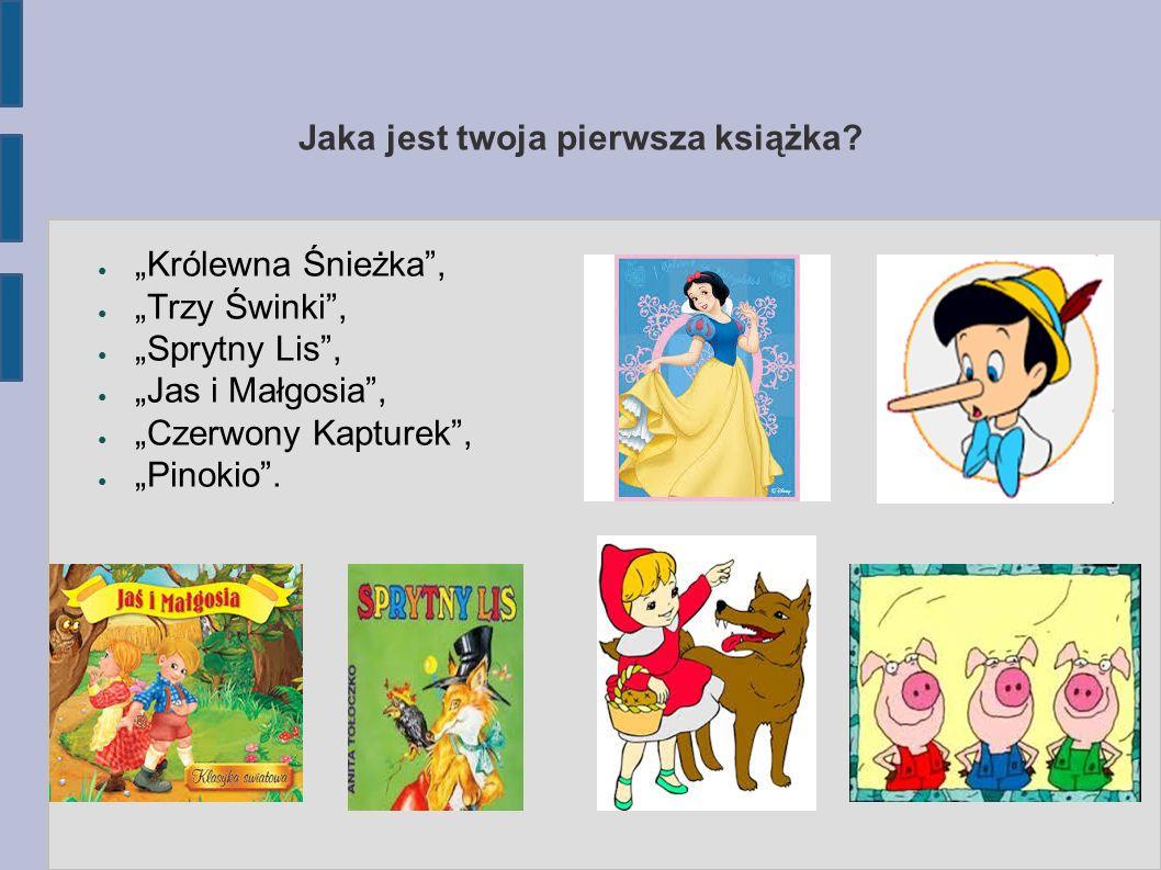 Jaka była twoja ulubiona książka z dzieciństwa.
