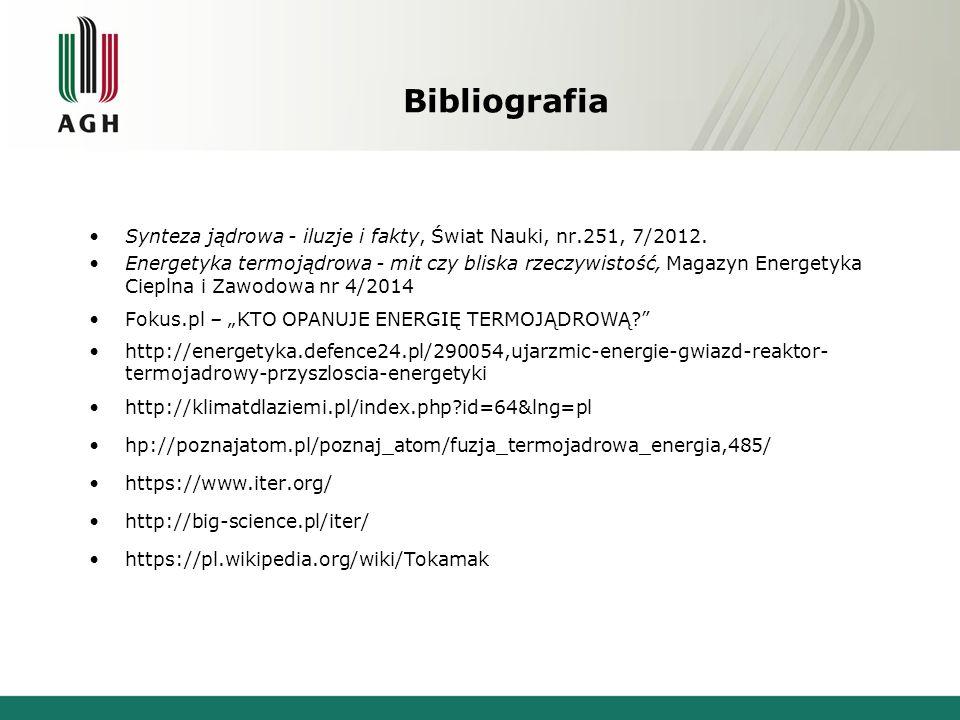Bibliografia Synteza jądrowa - iluzje i fakty, Świat Nauki, nr.251, 7/2012.