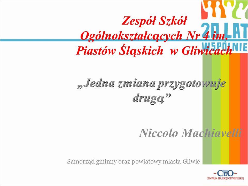 Zespół Szkół Ogólnokształc ą cych Nr 4 im.