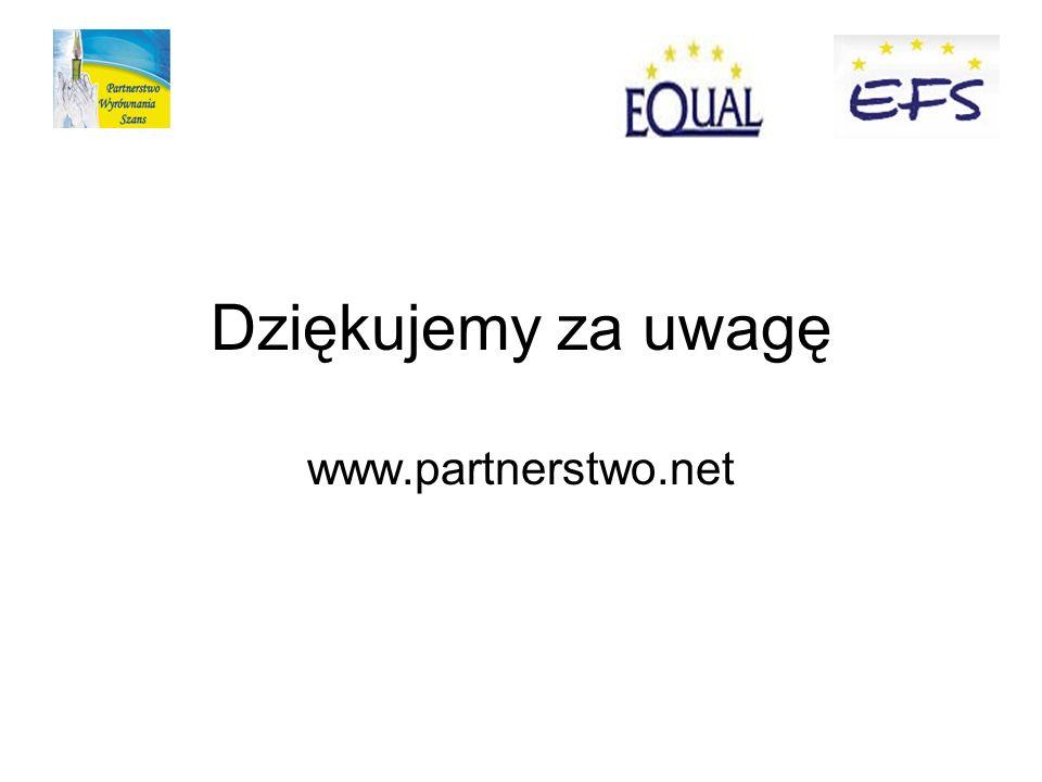 Dziękujemy za uwagę www.partnerstwo.net