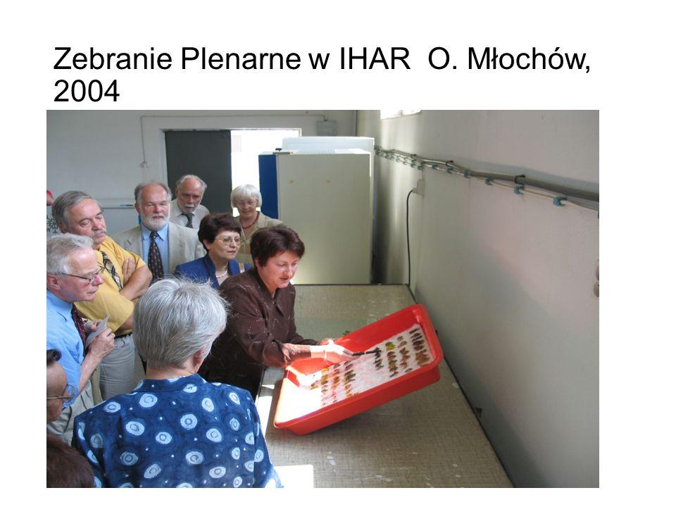 Zebranie Plenarne w IHAR O. Młochów, 2004