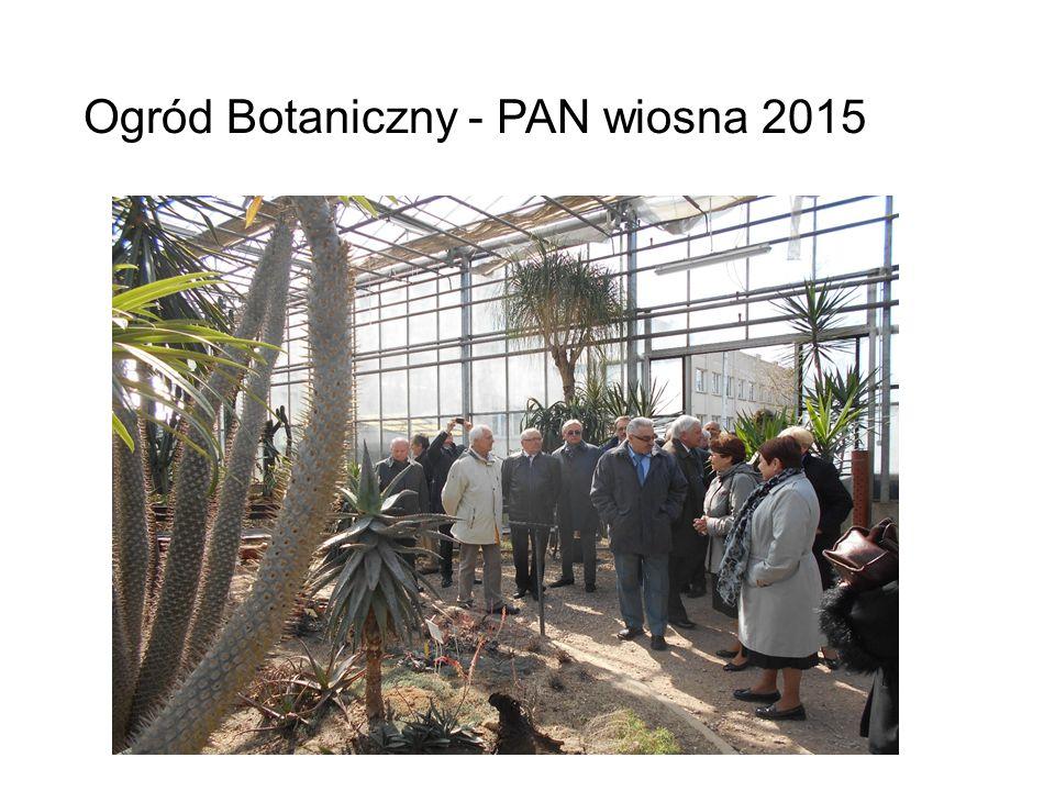 Ogród Botaniczny - PAN wiosna 2015