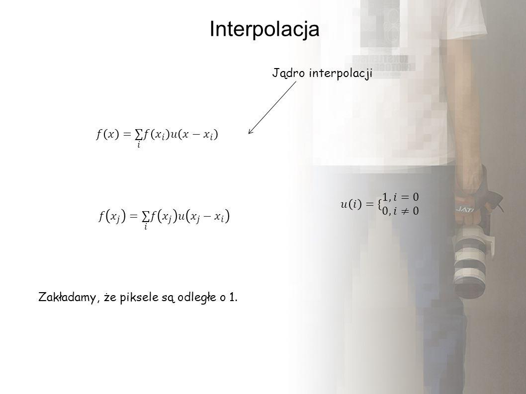 Interpolacja dwuwymiarowa