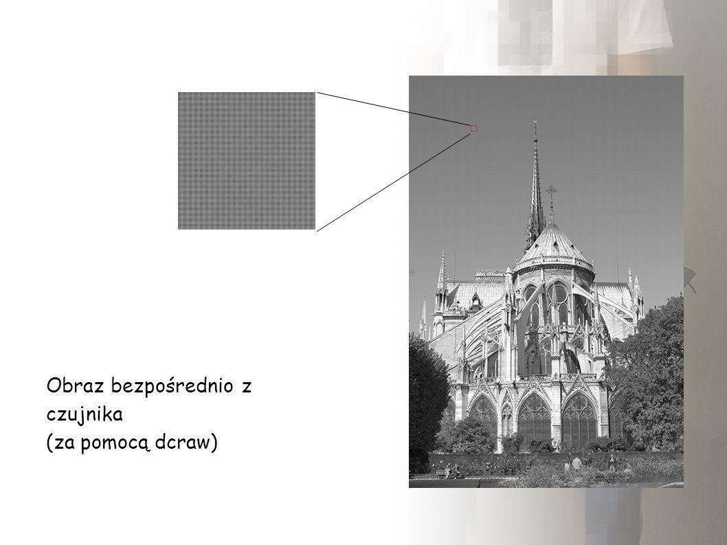 Mapy jednorodnosci - kolor piksela x