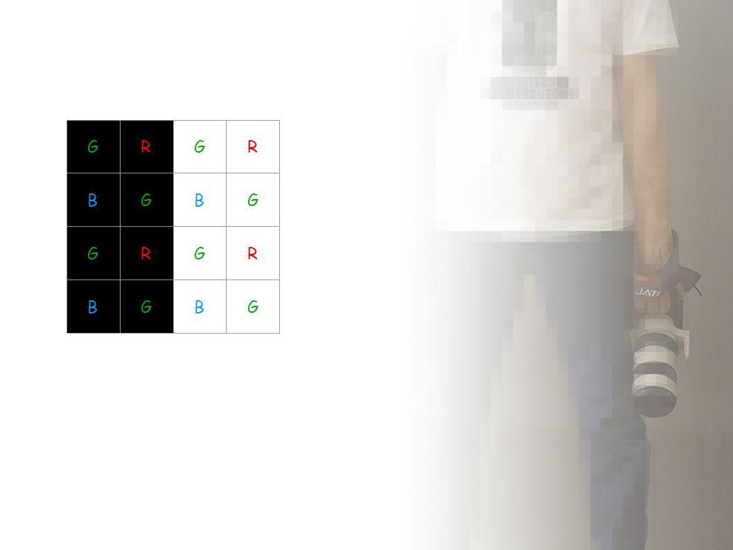 Interpolacja zieleni 2 2 2 To samo dla niebieskiego i kolumn