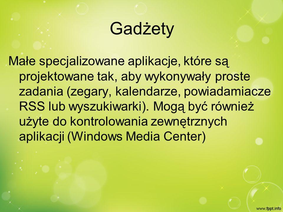 Sidebar Object Reference Gadget System Presentation