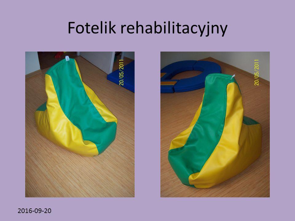 2016-09-20 Fotelik rehabilitacyjny