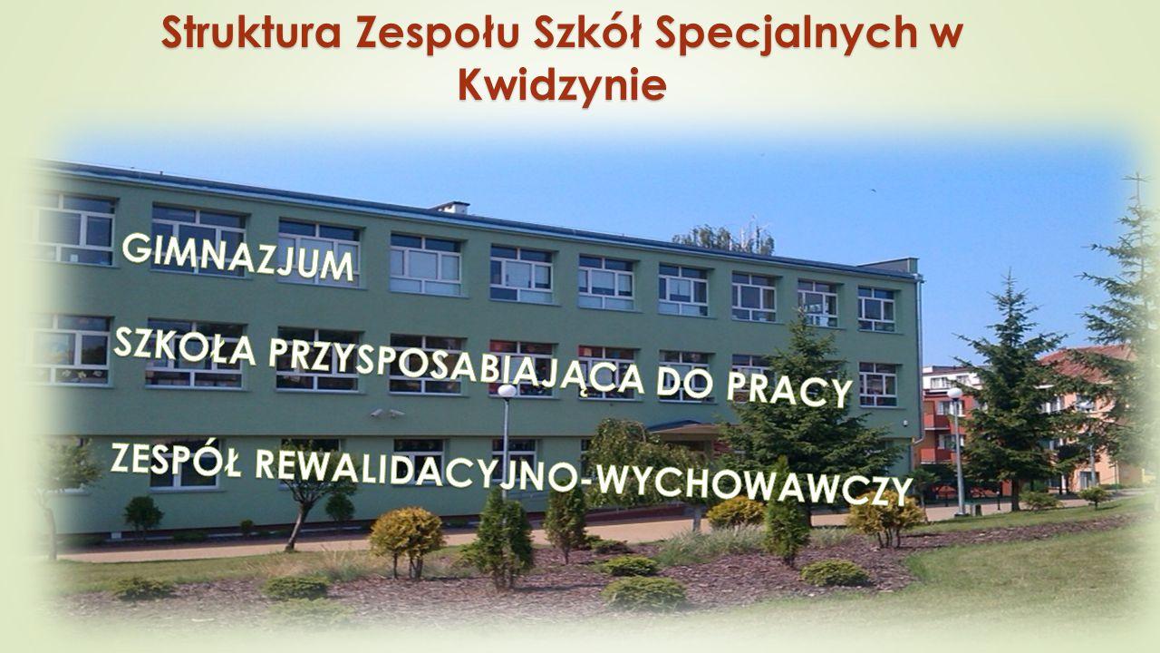 GIMNAZJUM SPECJALNE Gimnazjum Specjalne dla uczniów z niepełnosprawnością intelektualną w stopniu lekkim : trzyletni cykl kształcenia, trzyletni cykl kształcenia, zakończone egzaminem gimnazjalnym.