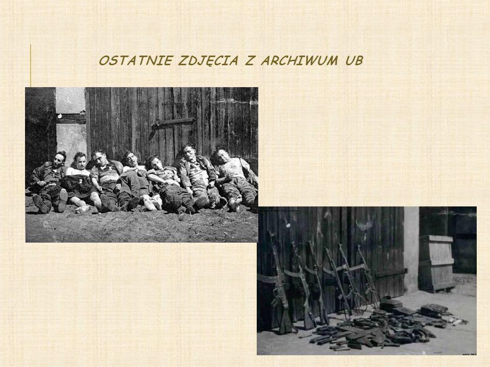 HISTORIA SIĘ O NAS UPOMNI Puszczyk oraz jego żołnierze zginęli z bronią w ręku Ciała żołnierzy zostały zabrane przez bezpiekę Do chwili obecnej nie wiadomo, co się z nimi stało Rodziny żołnierzy niezłomnych zostały wykluczone, szykanowane i okrutnie torturowane Na mieszkańców Niedziałek spadły surowe represje: wyroki, konfiskacja mienia, publiczne potępienie W 2001 roku w Niedziałkach odsłonięto symboliczny obelisk upamiętniający żołnierzy Oddziału Corocznie 5 lipca przy obelisku odbywają się uroczystości przy udziale władz lokalnych, uczniów pobliskich szkół, rodzin i mieszkańców