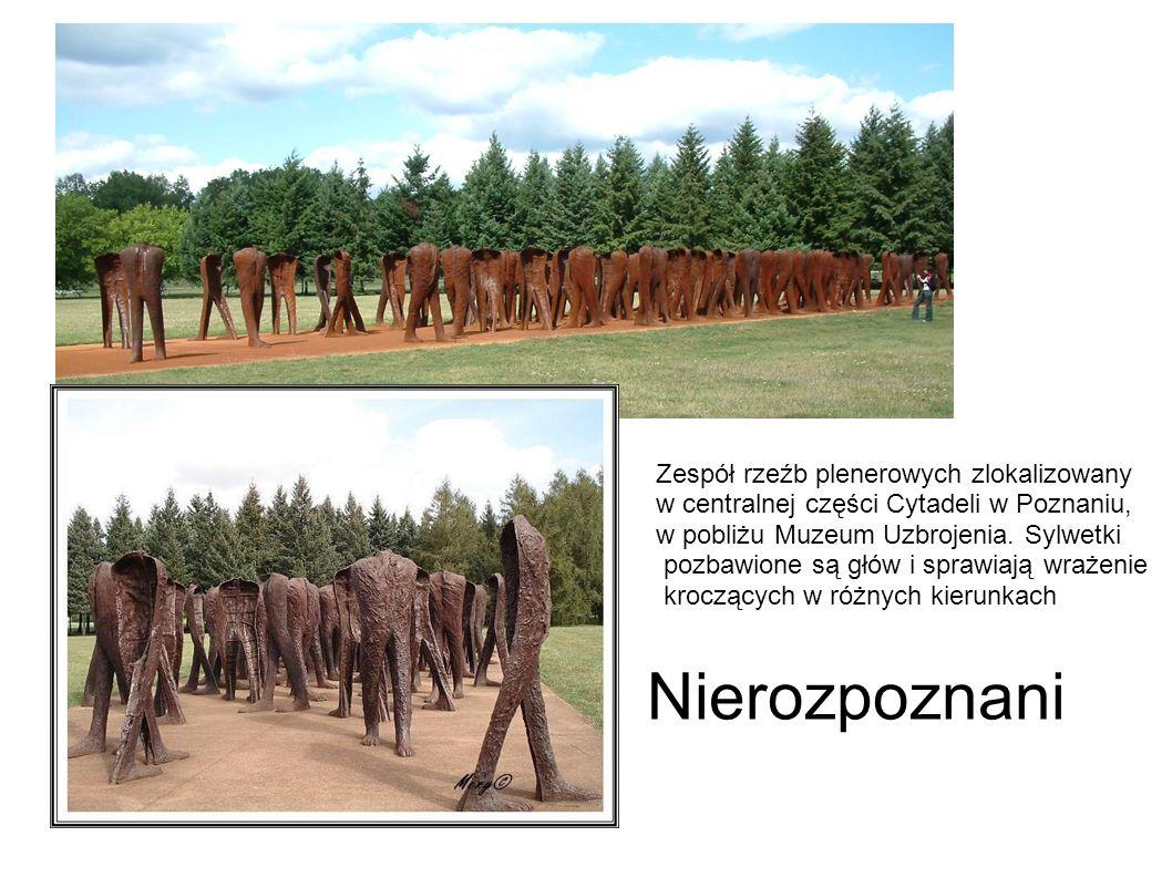 Zespół rzeźb plenerowych zlokalizowany w centralnej części Cytadeli w Poznaniu, w pobliżu Muzeum Uzbrojenia.