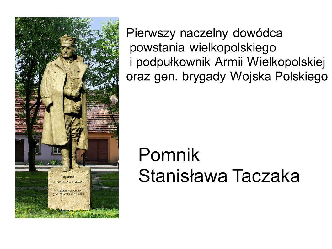 Pierwszy naczelny dowódca powstania wielkopolskiego i podpułkownik Armii Wielkopolskiej oraz gen.