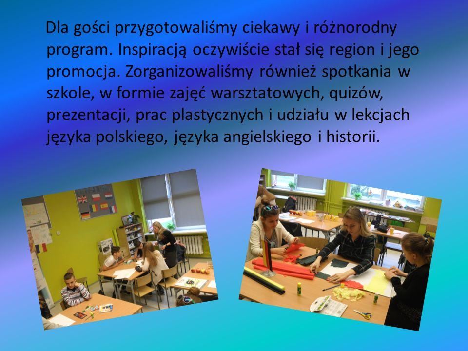Dla gości przygotowaliśmy ciekawy i różnorodny program.