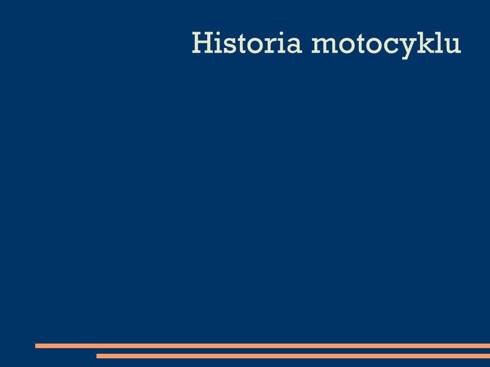 Historia motocyklu