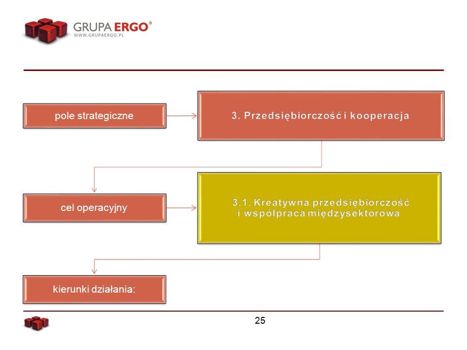 25 pole strategiczne cel operacyjny kierunki działania: