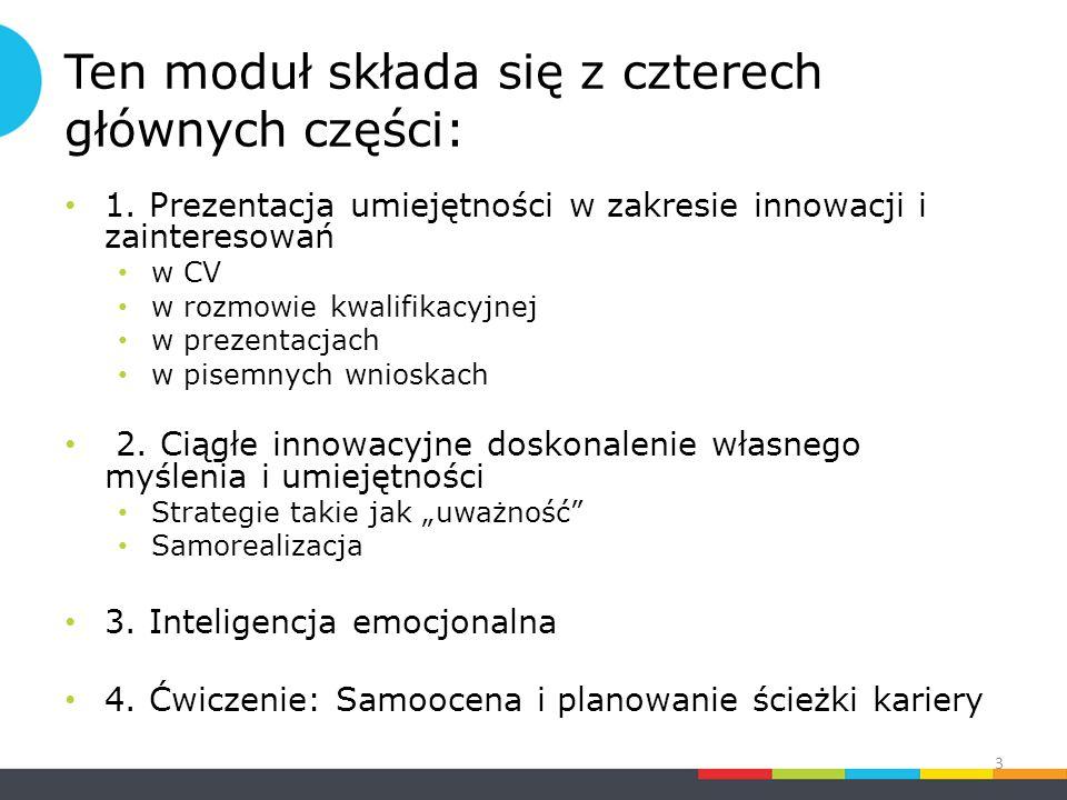 1.Prezentowanie umiejętności w zakresie innowacji i zainteresowań 1.1 Czym one są.