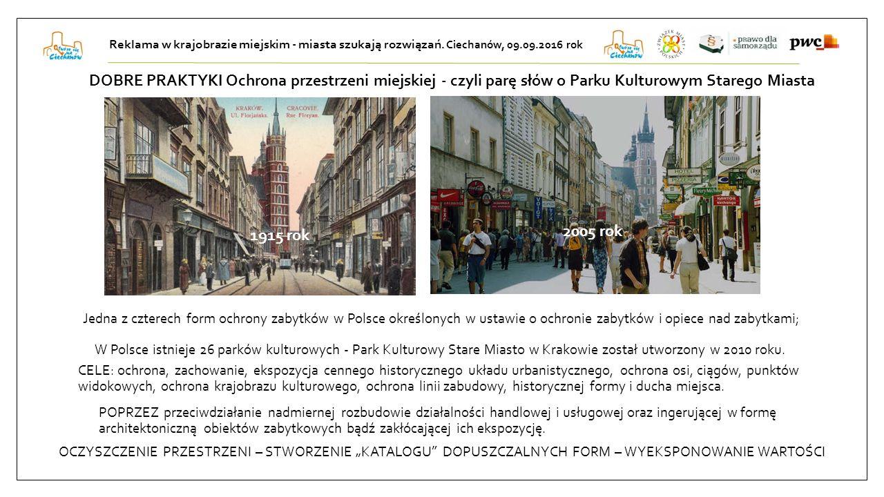 W Polsce istnieje 26 parków kulturowych - Park Kulturowy Stare Miasto w Krakowie został utworzony w 2010 roku.