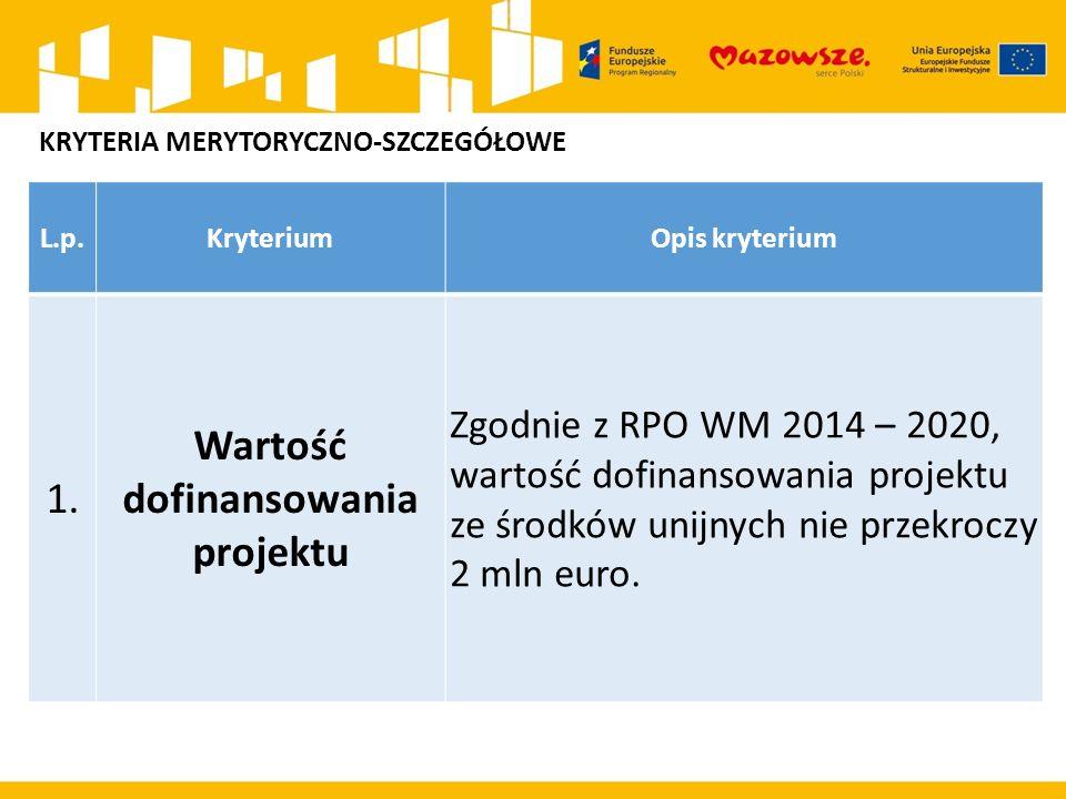 L.p.KryteriumOpis kryterium 1.