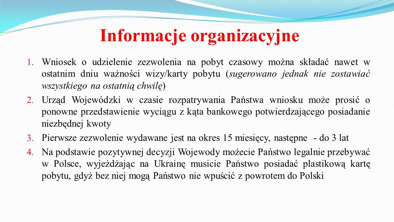 Komplet niezbędnych dokumentów 1.