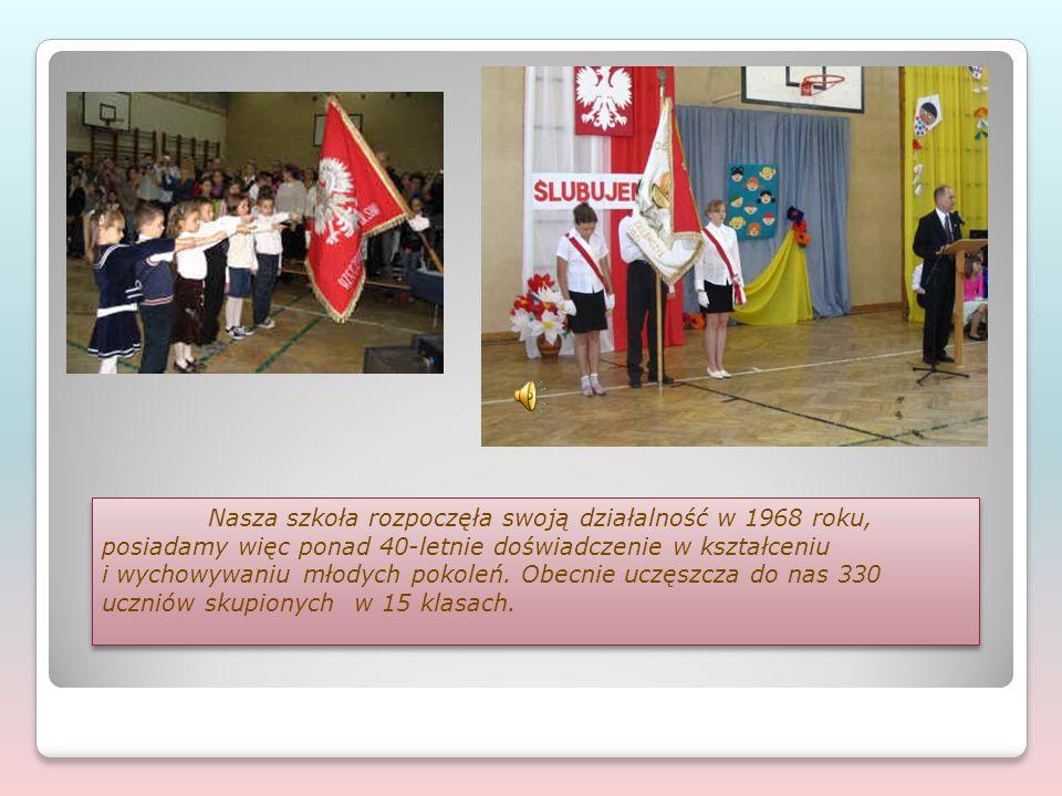 Nasza szkoła rozpoczęła swoją działalność w 1968 roku, posiadamy więc ponad 40-letnie doświadczenie w kształceniu i wychowywaniu młodych pokoleń. Obec