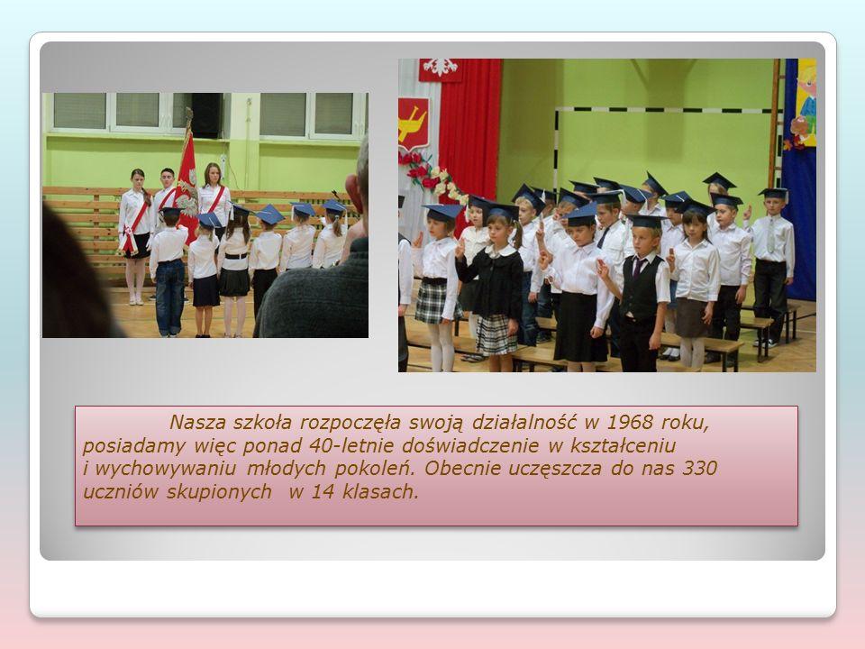 Nasza szkoła rozpoczęła swoją działalność w 1968 roku, posiadamy więc ponad 40-letnie doświadczenie w kształceniu i wychowywaniu młodych pokoleń.