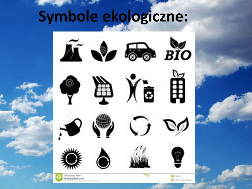 Symbole ekologiczne:
