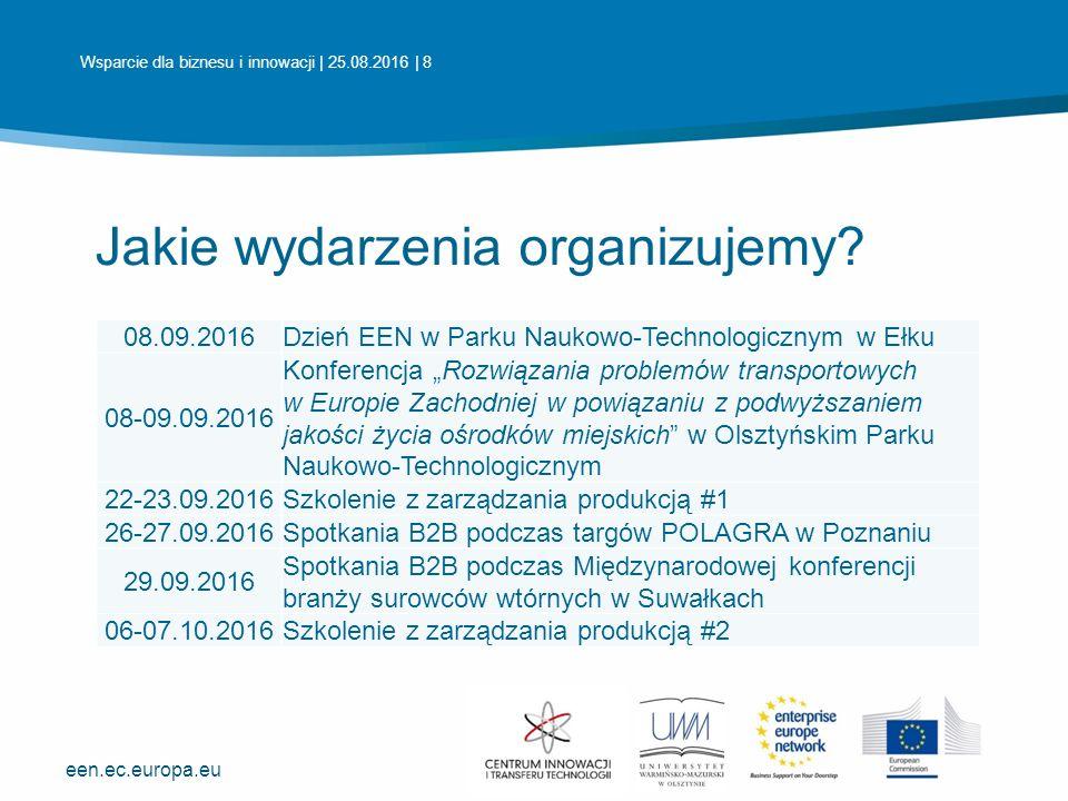 een.ec.europa.eu Centrum Innowacji i Transferu Technologii Uniwersytet Warmińsko-Mazurski w Olsztynie ul.