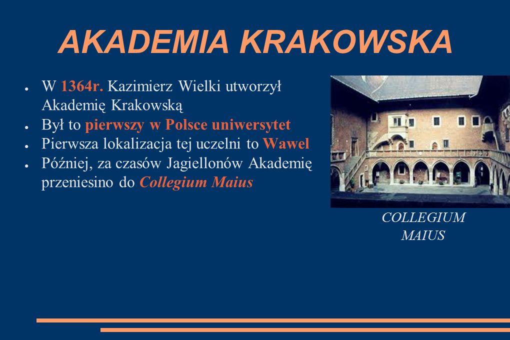 AKADEMIA KRAKOWSKA ● W 1364r.
