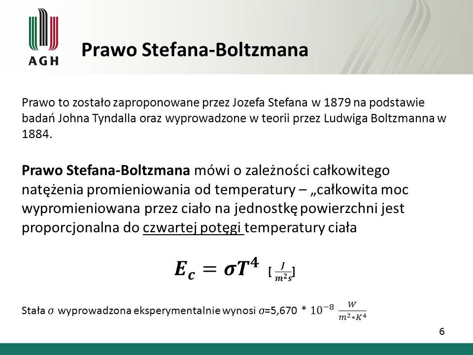 Prawo Stefana-Boltzmana 6