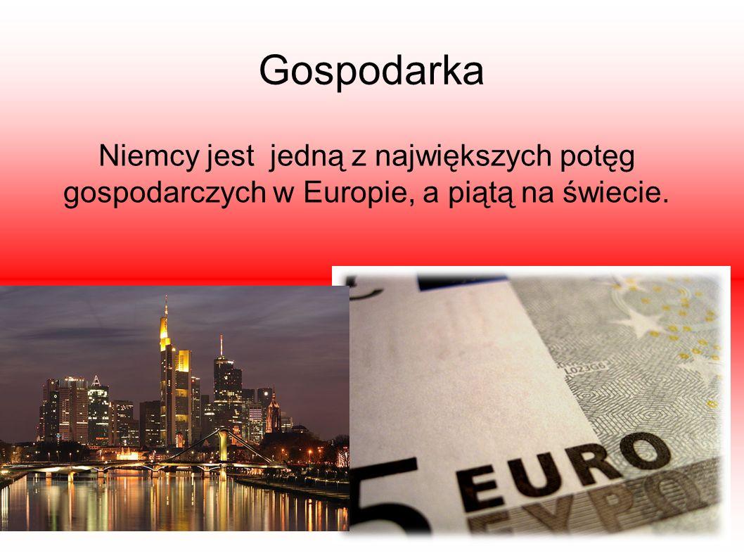 Gospodarka Niemcy jest jedną z największych potęg gospodarczych w Europie, a piątą na świecie.